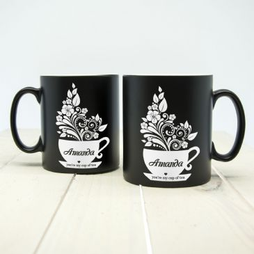 Silhouette You're My Cup Of Tea Mug